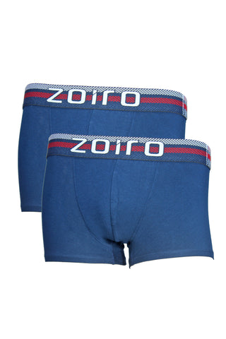 Zoiro Lorenzo 1102 Men's Premium Cotton Mid Rise Trunk-Navy [Pack Of 2]