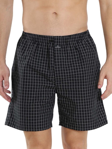 Jockey Assorted Men's Premium Cotton Boxer Shorts Pack Of 2-1223