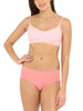 Jockey Candy Pink Non Padded Seamed Slim Fit Bra-1615