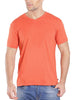 Jockey Men's V-Neck Orange Rust T-Shirt-2726
