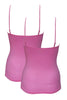 Juliet JSC831 Girls & Women's Cotton Lycra Camisole Pack-Of-2 Pink