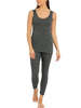 Jockey Women's Charcoal Melange Thermal Camisole-2500