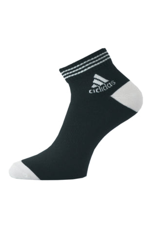 Adidas Pack Of 1 Men's Flat Knit  Ankle-Black