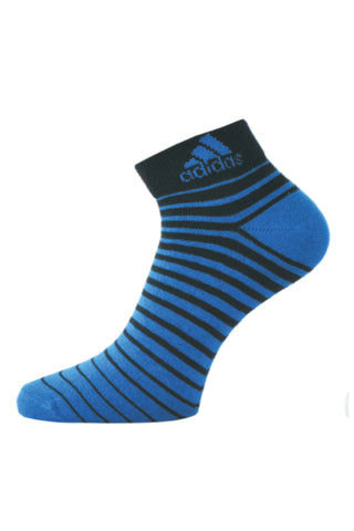 Adidas Pack Of 1 Men's Flat Knit Quarter-Black