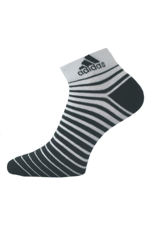 Adidas Pack Of 1 Men's Flat Knit Quarter-White