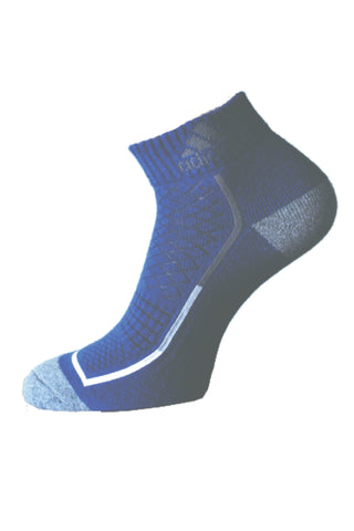 Adidas Pack Of 1 Men's Flat Knit Quarter-Blue Depths