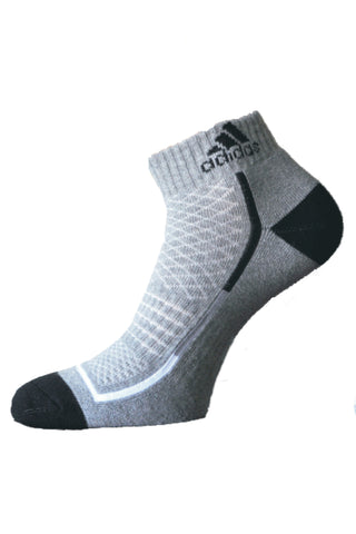 Adidas Pack Of 1 Men's Half Cushion Ankle-Grey Millange