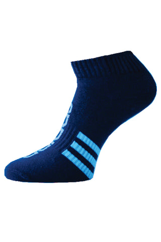 Adidas Pack Of 1 Men's Flat Knit Low cut -Night Blue