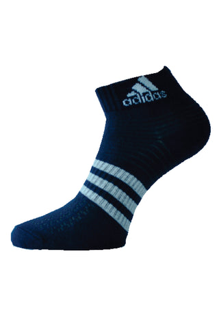 Adidas Pack Of 1 Men's Flat Knit Ankle -Night Blue