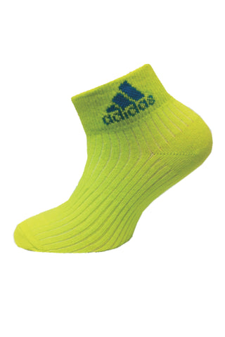 Adidas Pack Of 1 Women's Flat Knit Quarter-Bahin Glow