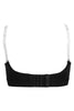 Trylo Alpa Straple Women's Full Figure T-Shirt Bra -Black