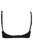 Amante BFCV32 Women's Seamless Padded Cotton T-Shirt Bra-Black
