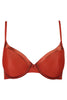 Amante BGSE31 Women's Underwired Semi padded T-Shirt Bra-Orange