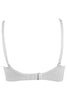 Bwitch BW341 Bare Women's  Seamless Non Padded Full Figure T-Shirt Bra-White