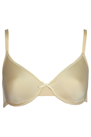Bwitch BW424 Serene Underwired Low Cut T-Shirt Bra-Skin