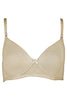 Bwitch BW426 Peri Cotton Semi Padded Full Figure T-Shirt Bra-Skin