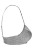 Bwitch BW525 Mushy Hosiery Padded Low Cut T-Shirt Bra-Grey Melange