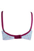 Trylo Erica Women's Full Figure T-Shirt Bra-Printed Pink