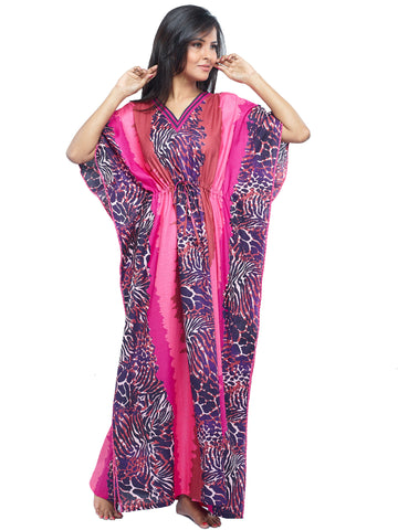 Juliet FN70764 Women's Fancy Nighty,Brich Print