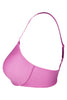 Hanes G511 Women's Seamless Padded Nylon Low Cut T-Shirt Bra-CashmerePink