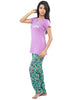 Juliet JLPJ12140 Women's Night Suit,Light Purple