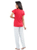 Juliet JLPJ12165 Women's Night Suit,Red