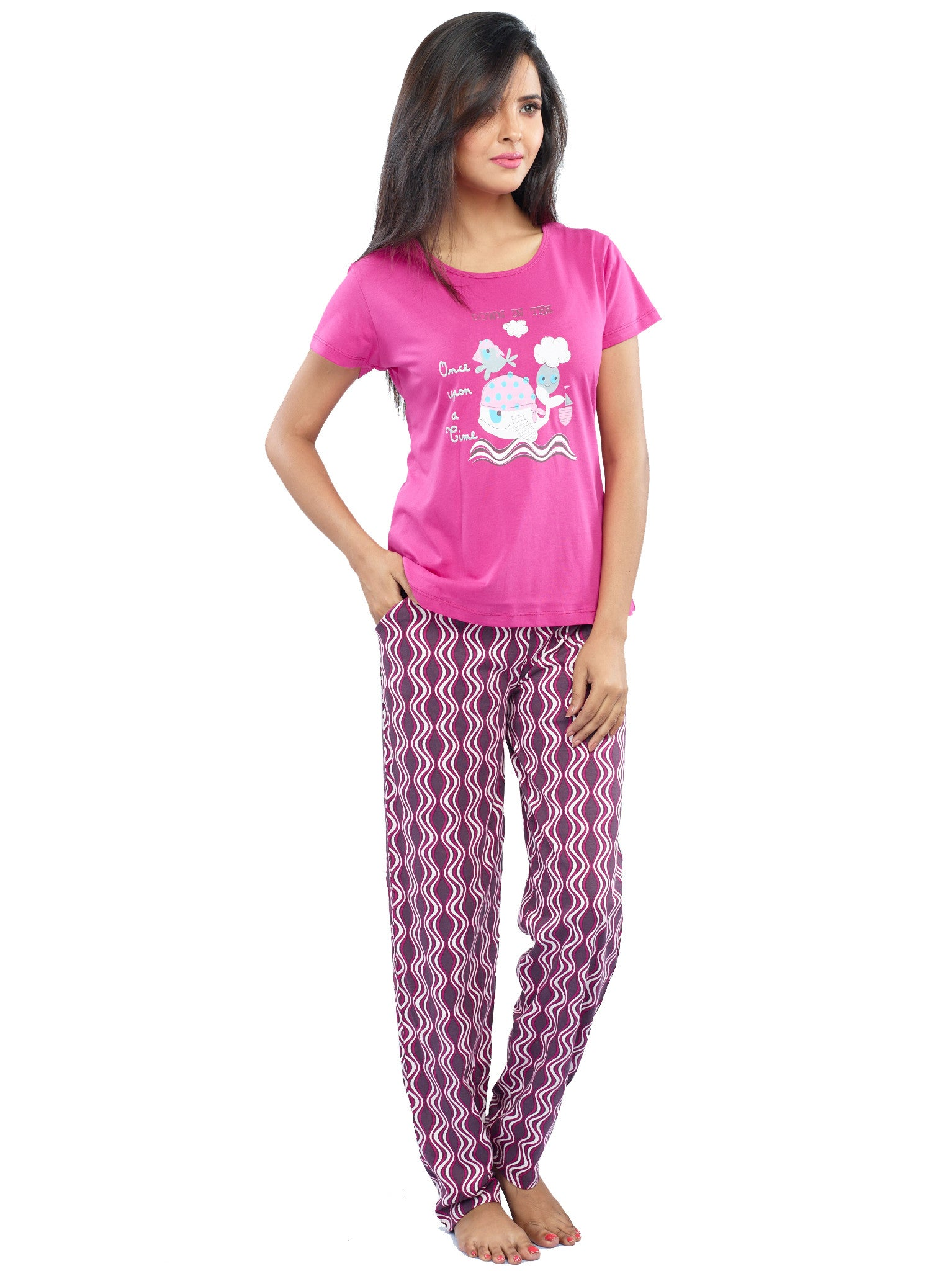 Juliet JLPJ12172 Women s Pyjama Night Suit 213e16574
