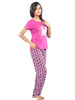 Juliet JLPJ12172 Women's Pyjama Night Suit,Pink
