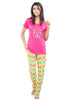 Juliet JLPJ12237 Women's Night Suit,Pink