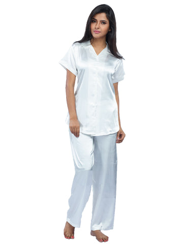 Juliet JRB9025 Women's Pyjama Night Suit,Cream