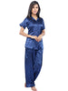 Juliet JRB9025 Women's Pyjama Night Suit,Navy