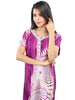 Juliet JRB9042 Women's Fancy Nighty,Purple Print