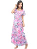 Juliet JRB9064 Women's Fancy Nighty,Pink