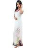 Juliet JRB9081 Women's Fancy Nighty,Cream Grape Pri