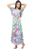 Juliet JRB9083 Women's Fancy Nighty,Lavender Print
