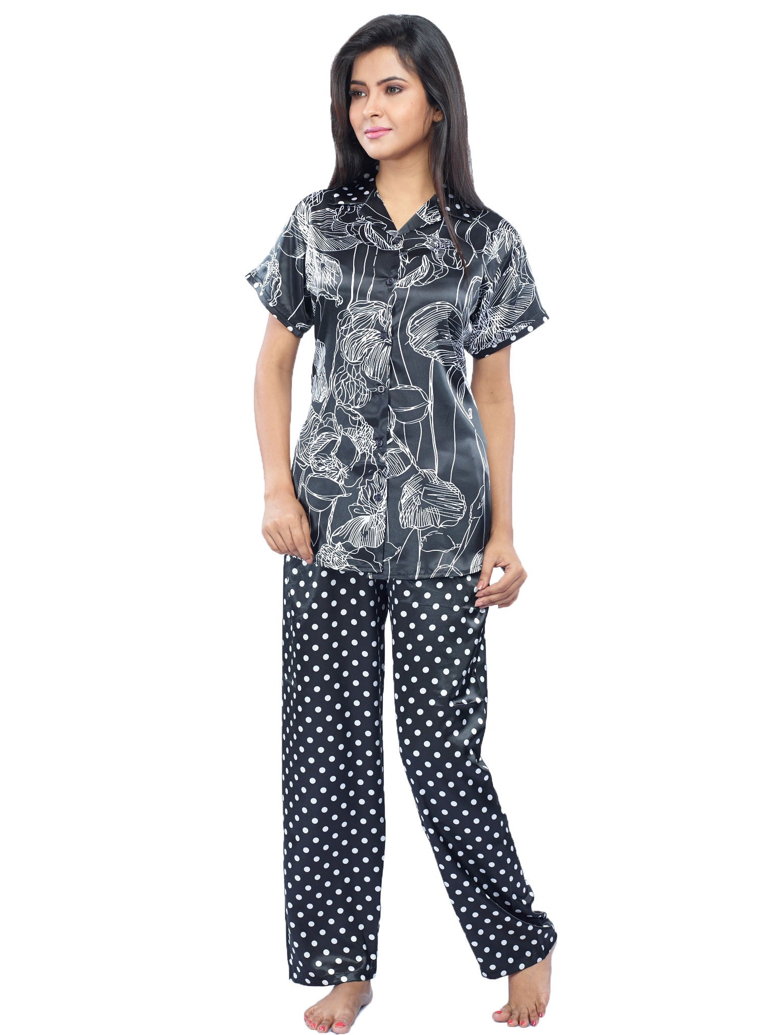 Juliet JRB9090 Women s Pyjama Night Suit 913c3bf01