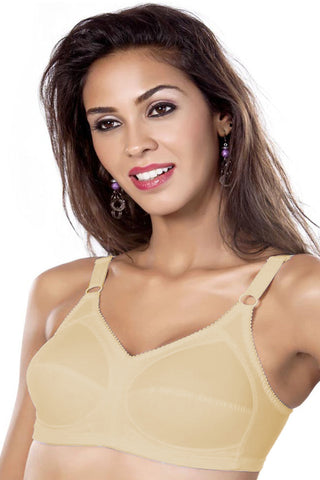 Maiden Beauty Maiden Fit Women's Saree Bra-Skin