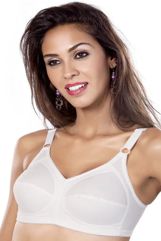Maiden Beauty Maiden Fit Women's Saree Bra-White