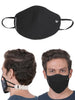 WildCraft Reusable Outdoor Respirator Unisex SuperMask W95+-POPCORN BLACK