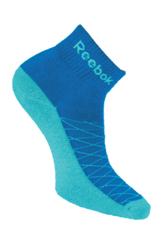 Reebok Pack Of 1 Women's Half cushion Ankle-Impact Blue