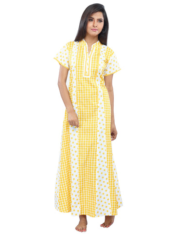 Juliet SCA409222 Women's Fancy Nighty,Mango Print