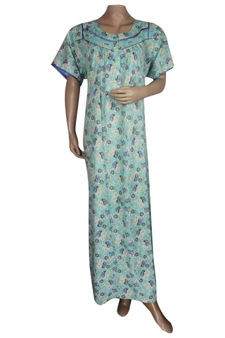 Juliet SCH503471 Women's Hosiery Printed Nighty-Green Print