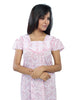 Juliet SCH409310 Women's Full Nighty,Pink Print