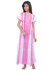 Juliet SCS409221 Women's Fancy Nighty,Pink Print