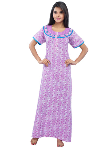 Juliet SLC30176 Women's Full Nighty,Lavender