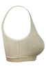 Hanes U204 Emma Women's Cotton Full Figure Sports And T-Shirt Bra-Nude