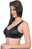 Juliet 61560 Women's T-Shirt Bra-Black