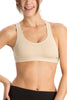 Jockey 1375 Women's Seamless Cotton Non Padded Sports Bra-Skin