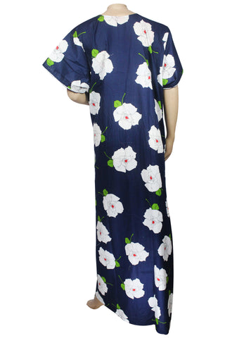 2180a0e57 Juliet FN70833 Women s Hosiery Printed Nighty-Navy Print