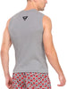 Jockey Men's Grey Melange Cotton Gym Vest-9930